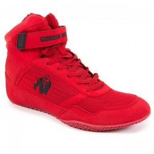 Gorilla Wear High Tops Red 40