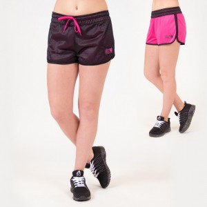 Madison Reversible Shorts Black/ Pink   M