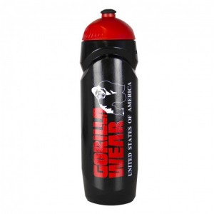 Sport Bottle Black/Red