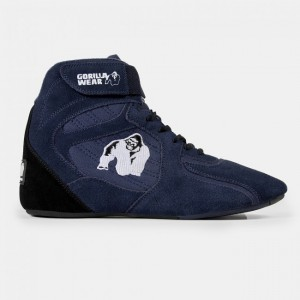 Chicago High Tops -  Navy 38