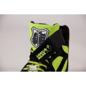 Chicago High Tops - Black/Neon Lime 39