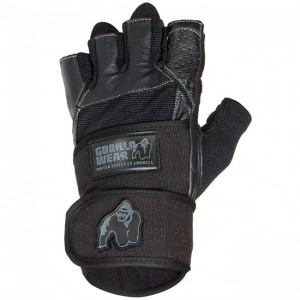 Dallas Wrist Wrap Gloves Black  2XL