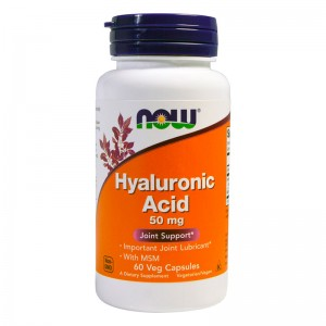 Hyaluronic Acid 50 мг + MSM - 60 веган кап