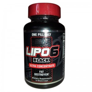 Lipo-6 Black Ultra Concentrate 10 black-caps