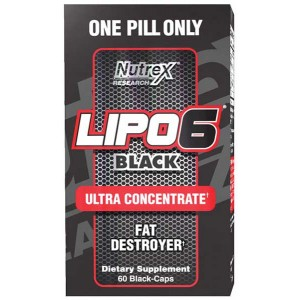 Lipo-6 Black Ultra Concentrate 60 black-caps