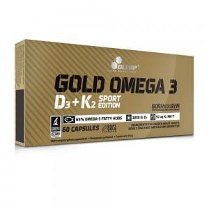 Gold  Omega -3  D3+K2 Spot Edition 60 caps