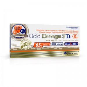 Gold  Omega -3  D3+K2 30 caps