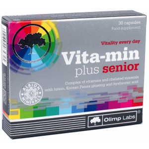 Vita-Min plus senior 30 caps