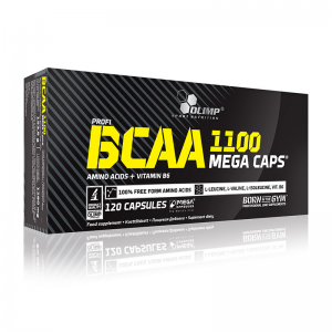 BCAA Mega Caps 120 caps