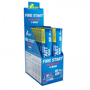 Fire Start Energy Gel+BCAA (зеленое яблоко) 36g