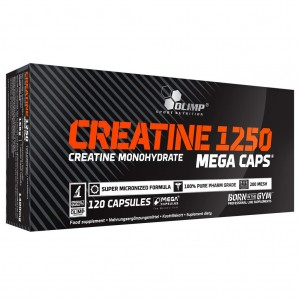 Creatine Mega Caps 120 caps