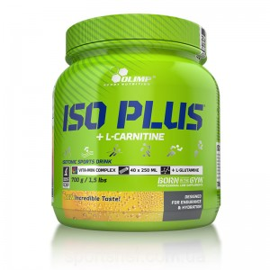 Iso Plus+L-Carnitine 700 g lemon