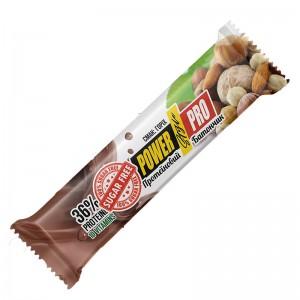 Батончик для спорт. харч. ореховый NUTELLA  без сахара ореховый60г