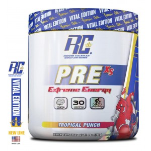 Pre XS Pre-Workout Powder Tropical Punch 5,8 oz/165 г