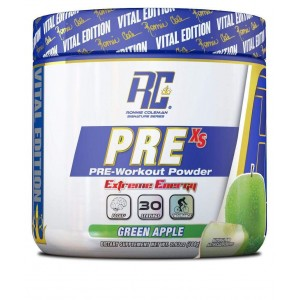 Pre XS Pre-Workout Powder Green Apple 5,8 oz/165 г
