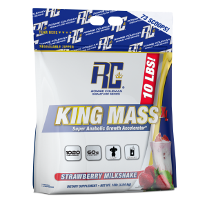 King Mass XL Strawberry Milkshake 10lb/4540g