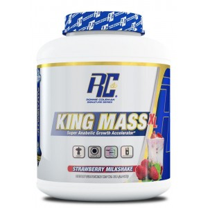 King Mass XL Strawberry Milkshake 6lb/2750g