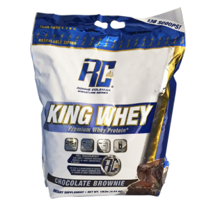 King Whey Chocolate Brownie 10Lb/4540g