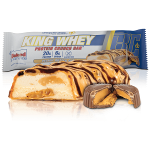 King Whey Protein Crunch Bar Peanut Butter Cup 57g