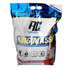 King Mass XL Strawberry Milkshake 15lb/6800g