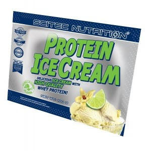 Protein IceCream light 100 g vanilla lime