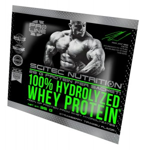 Hydrolyzed Whey Prot. 35 g straw-tiram.