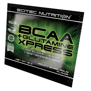 BCAA+Glutamine Xpress 12 g fruity bubble gum