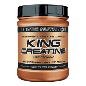 King Creatine 120 caps.