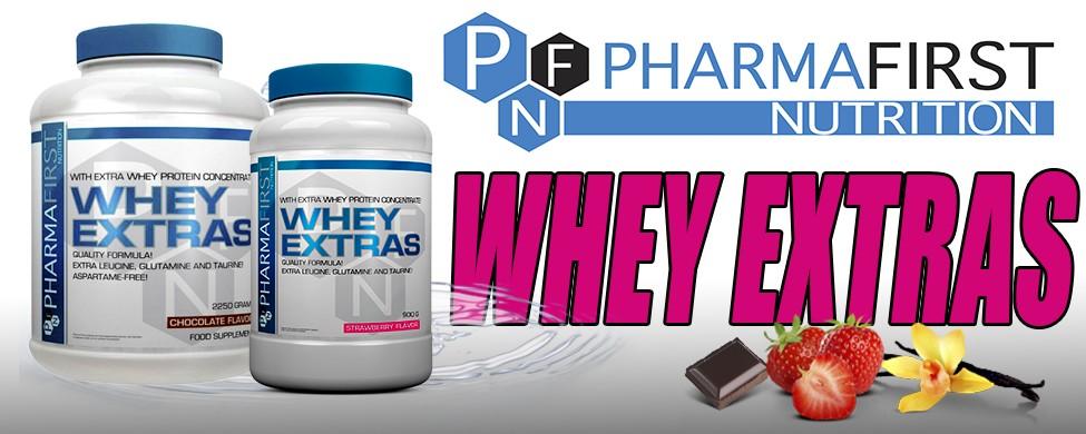 Pharma First Whey Extra's