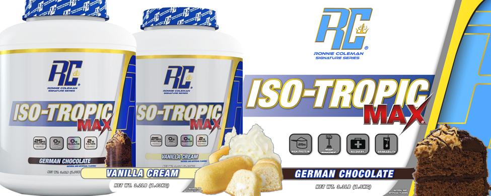 Iso-Tropic Max 50 3.5 lbs