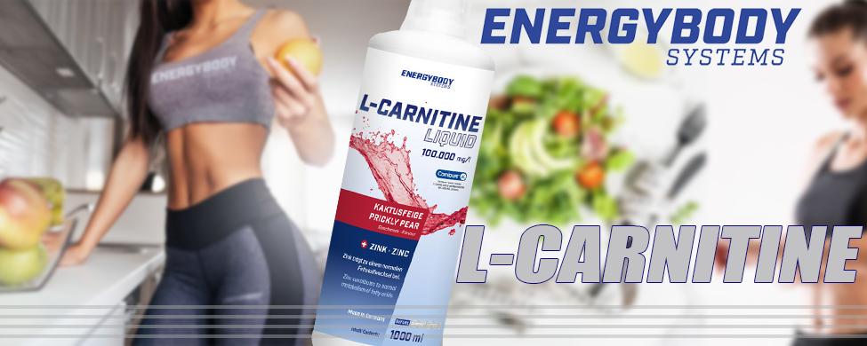 L-Carnitine Liquid Prickly Pear 1000ml